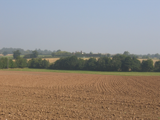 A distant view of Redfern Manor