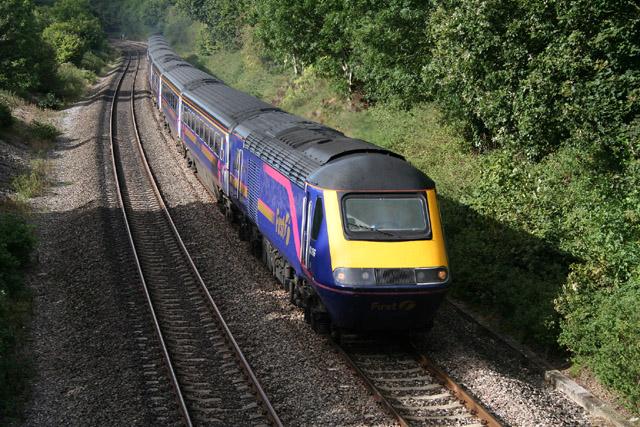 Burlescombe: railway at Eastbrook