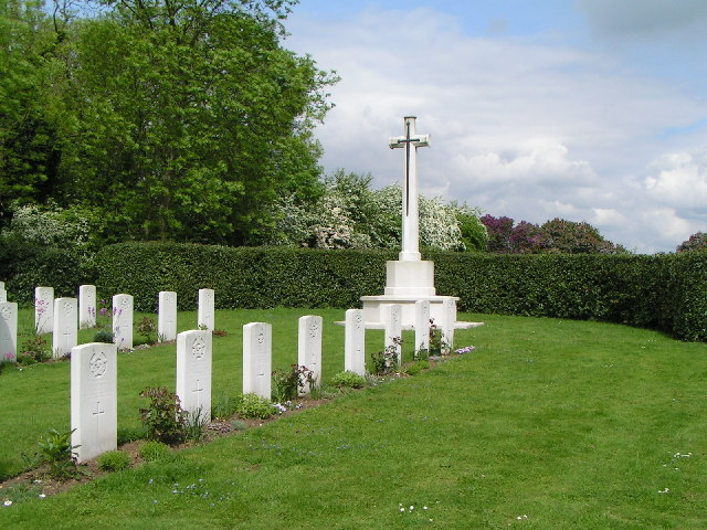 Military burials at Scopwick Cemetery