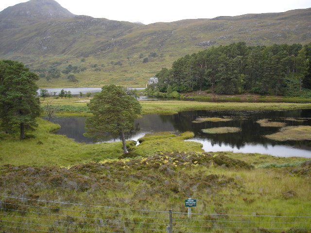 Loch Affric and Affric Lodge