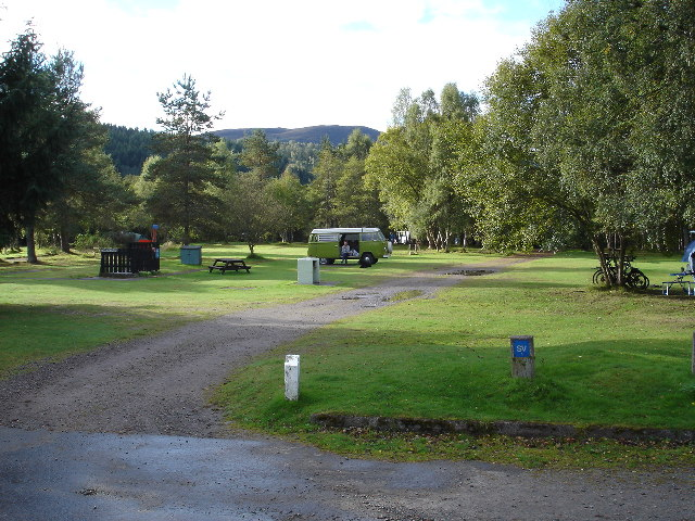 Cannich camp site