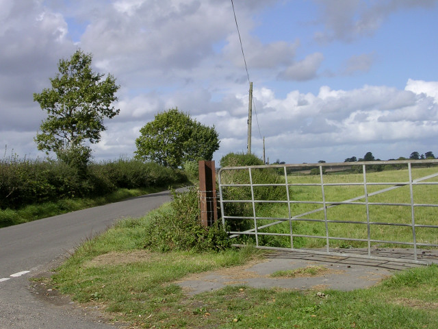 Junction on the Wonston-Ansty road north of Skinner's Farm