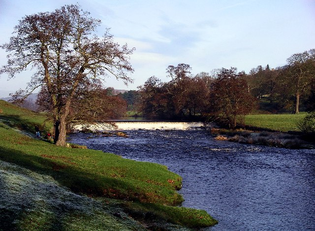 River Derwent at Chatsworth