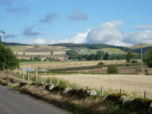 North side of the Sidlaws near Coupar Angus