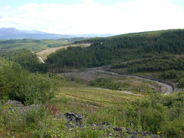 View from Deucheran Hill, Kintyre