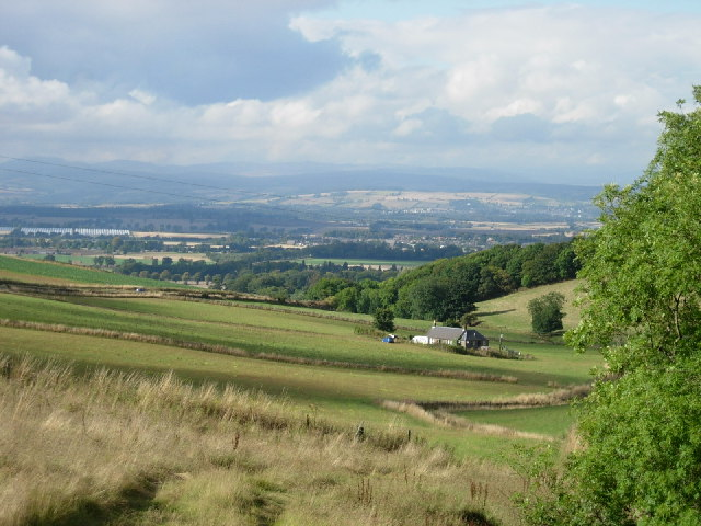 Vale of Strathmore from Tullybaccart