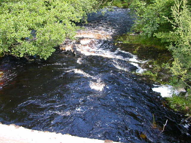 Carra Water from bridge at Auchenbreck