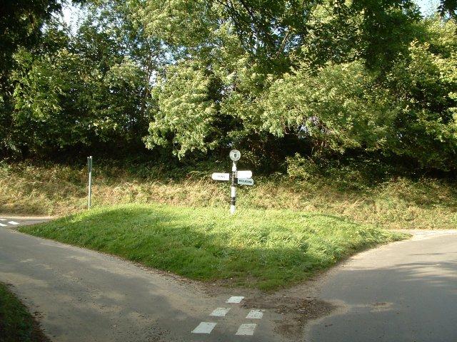Sign Post, Stedham Lane, West Sussex