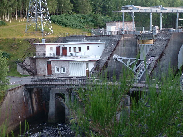 Dundreggan Dam & Power Station