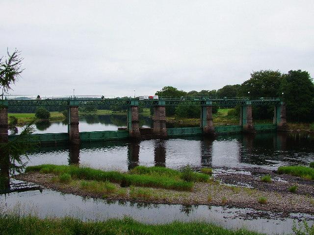 Glenlochar Barrage