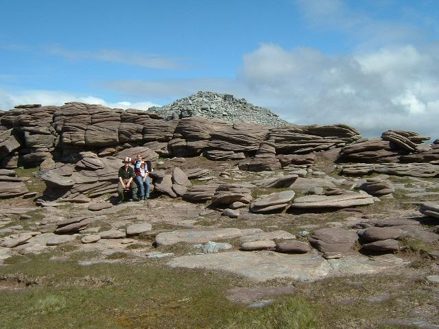 Rock formations, Cul Mor, Coigach