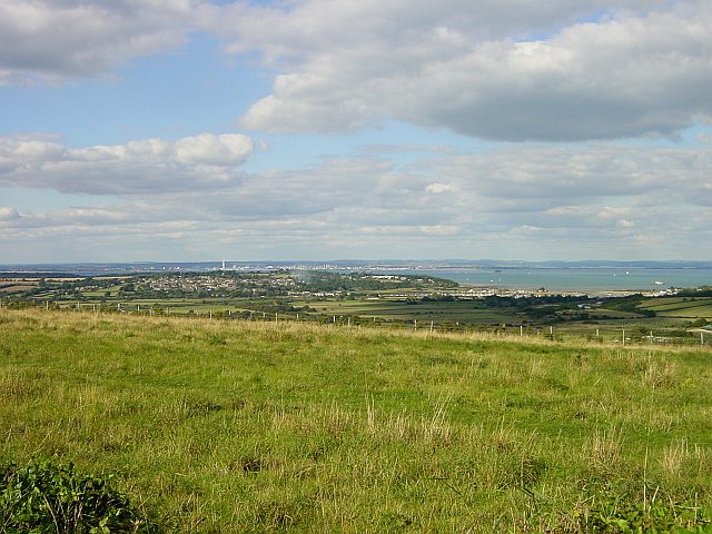 View from Bembridge Down