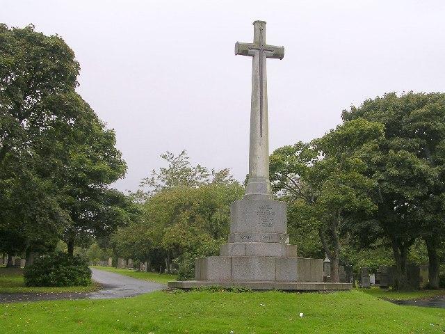 War Memorial, Lambhill Cemetery