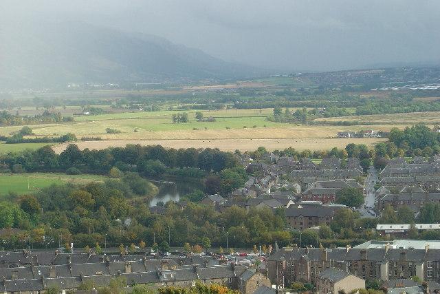 Meander on River Forth at Stirling