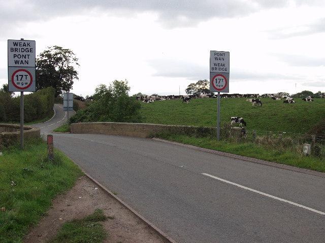 Rural bridge under strain