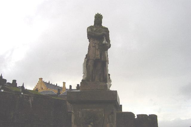 Robert the Bruce statue, Stirling Castle Esplanade