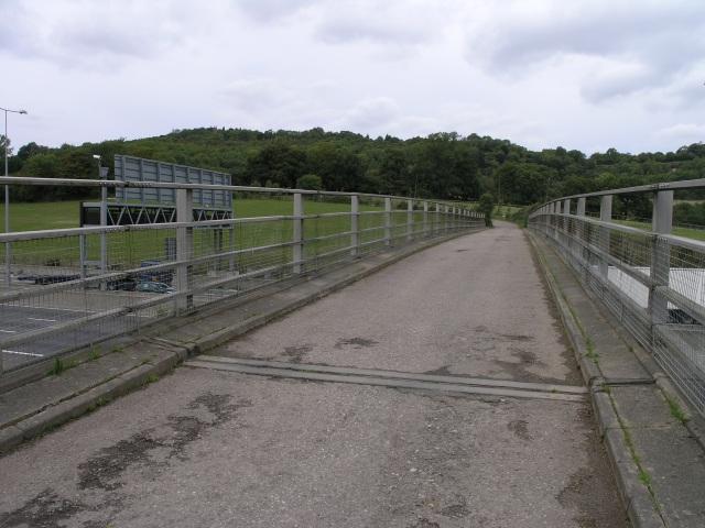 Narrow Bridge over M25
