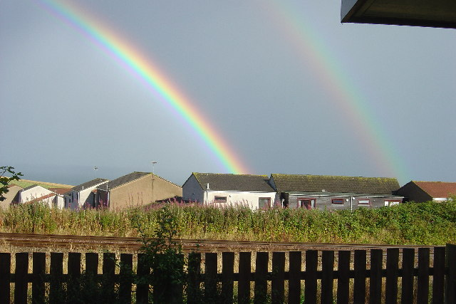 Double Rainbow over the Railway