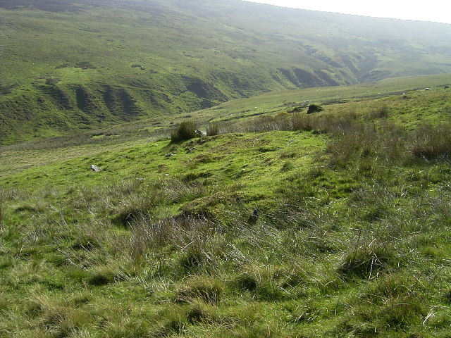 Lieh Eayst ringfort at the top of the Corrany Valley