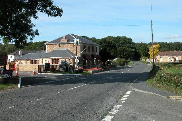 Pub at Blindman's Gate, Gorsley