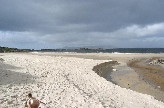 Camusdarach Beach, near Morar