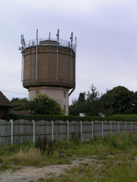 Water Tower at Meir Heath