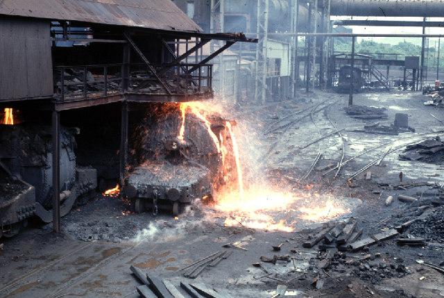 Molten Steel Spill