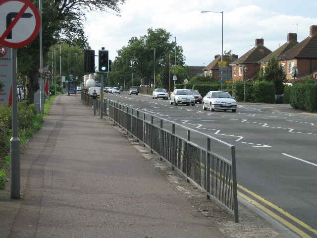 Bicester Road looking west