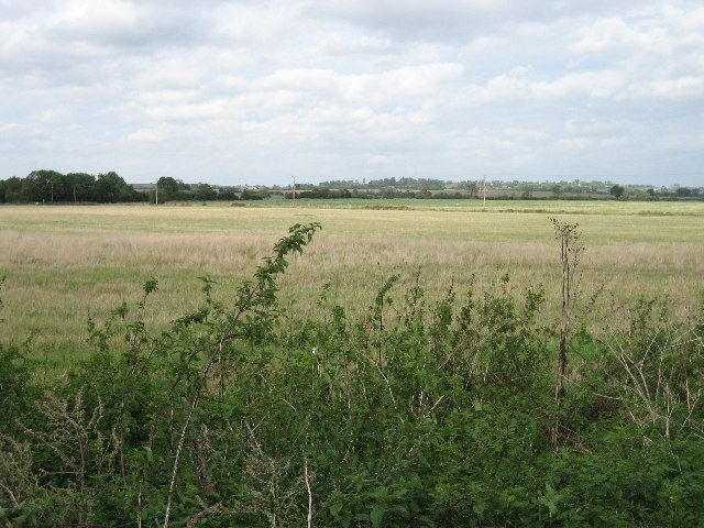 View from lay-by off A41 looking north towards Quarrendon
