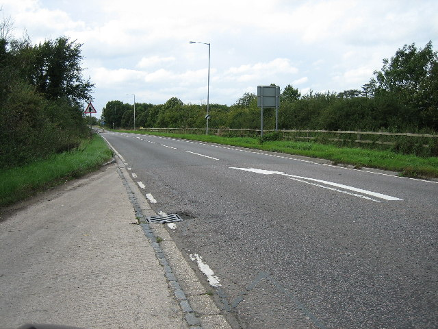 A41 looking east from lay-by