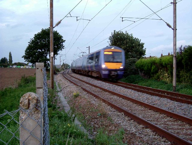 Train Passing Stanford le Hope