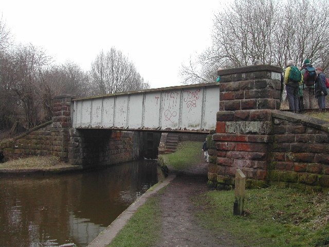 Railway Bridge over Canal, Stockton Brook, North Staffs