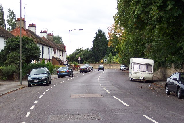 The old Woking Road, Guildford