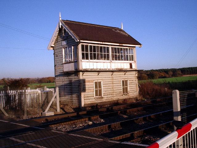 Elsham Signal Box