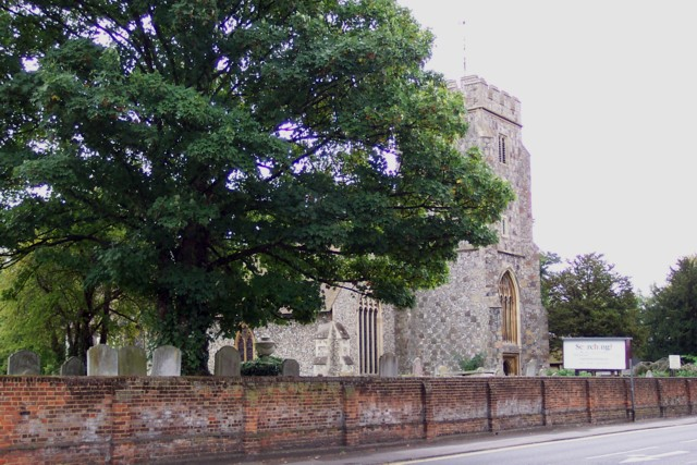 The parish church, Stoke-by-Guildford