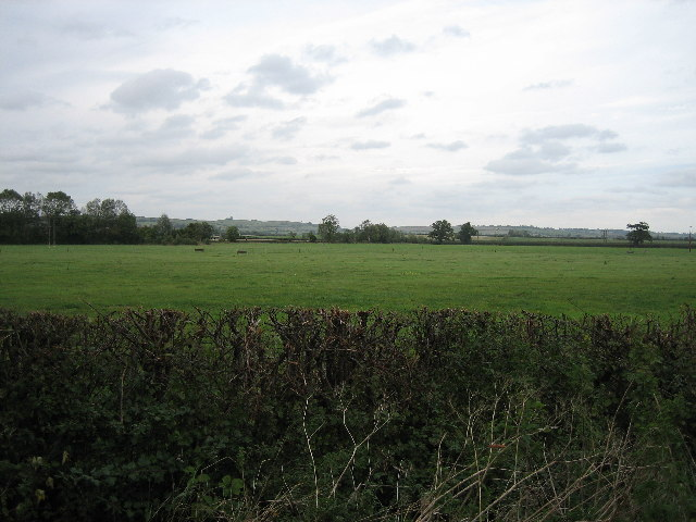 Lay-by off A41 looking north
