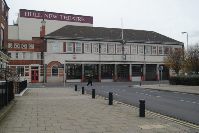 Hull Central Fire Station