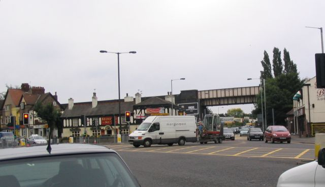 Major road junction