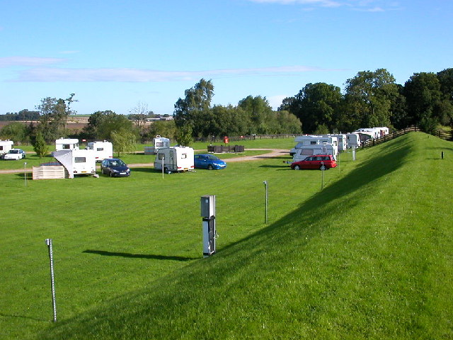 Caravan and Camping site Boroughbridge.