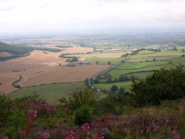 View from Sutton Bank.