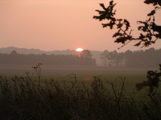 Sunrise over Jubilee Belt