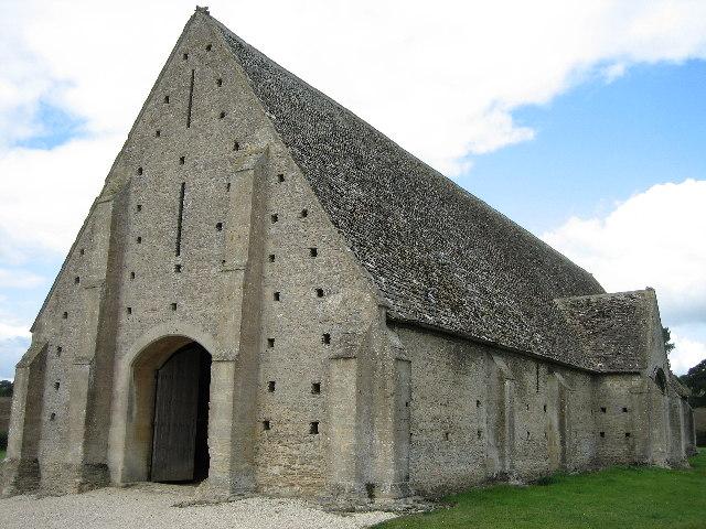 Tithe Barn at Great Coxwell