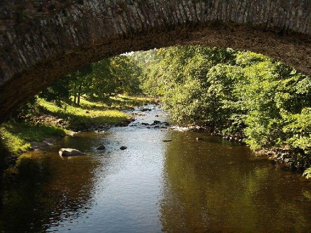 River Lowther under Low Gardens Bridge