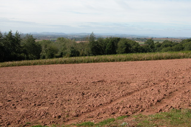 View of south Herefordshire