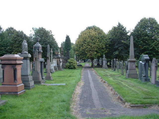 Cemetery at Heaviley
