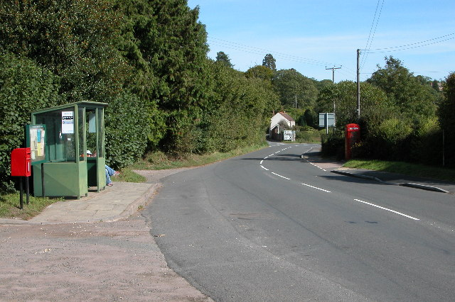 Bus Stop at Crow Hill