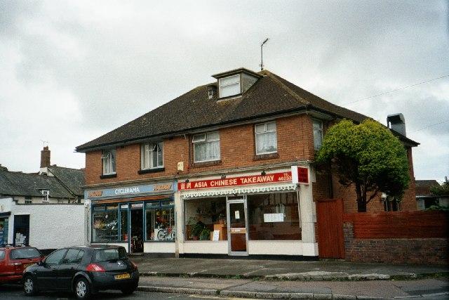 Shops, Whipton, Exeter