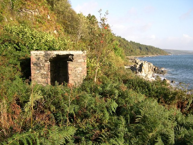 Derelict Shed beside Kilbrannan Sound, Kintyre