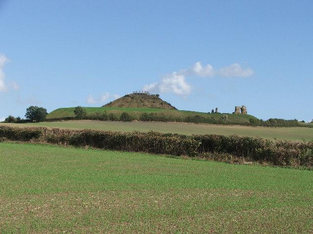 Sandal Castle, Wakefield.
