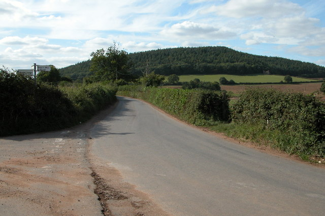 Penyard Hill from Pontshill